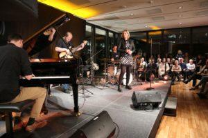 Jazz in den Ministergärten // Klangcraft & Judith Erb in der Landesvertretung Hessen (c) Landesvertretung Hessen