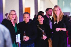 Jazz in den Ministergärten // Dr. Antje Draheim, Axel Pape, Gioia Raspé, Stefanie Lemke in der Landesvertretung Mecklenburg-Vorpommern (c) Konstantin Börner